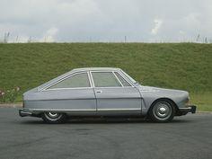 Citroën M35 Prototype by Heuliez 1969.