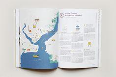 Map pour Louis Vuitton par Noémie Cédille dans Mint magazine