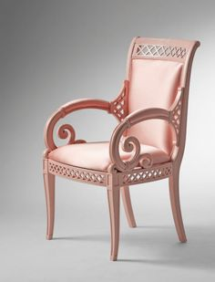 Versace pink chair_ Good Lord...this is a piece of art!