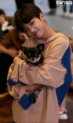 Dongpyo holding Tan(they both look so adorable together) Lee Dong Wook, Pose Reference Photo, Boy Idols, My Boo, Fandom, Ulzzang Boy, Debut Album, Best Memories, Kpop Boy