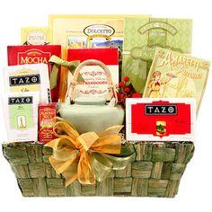 7. Alder Creek Holiday Tazo Tea Gift Basket #ShopAtHome, #Walmart  #12DaysOfPinning