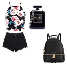 """""""flowers"""" by niahinqc ❤ liked on Polyvore featuring beauty, T By Alexander Wang, Chanel and Michael Kors"""