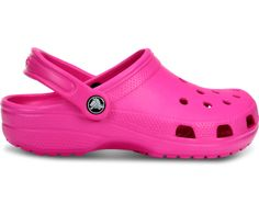 Crocs Classic 10001 Ladies Clog Sandal is part of our Ladies Shoe Sale Shop Sandals range. This particular item is being shown in Neon Magenta 8 and is just one of many styles in our Crocs Ladies collection. Magenta, Pink Crocs, Crocs Clogs, Crocs Classic, Clog Sandals, Unisex, Partner, Me Too Shoes, Pink Ladies