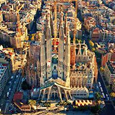 Segrada Familia, Barcelona Spain