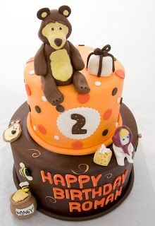 The Crimson Cake Blog: Masha and the Bear