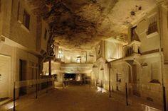 Cave champignonnière des Roches et Ville Souterraine