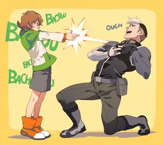 "TKG (火の国の民) on Twitter: ""Laser gun #Shiro #Pidge #Voltron…"