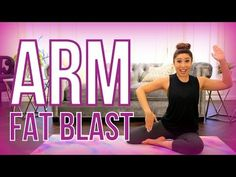 Arm Fat Blaster | POP Pilates for Beginners | blogilates - YouTube | Bloglovin'