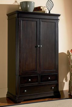 Charmant (Limited Supply) Click Image Above: Sahara Bedroom Collection Espresso  Finish Tv Armoire