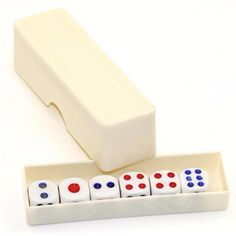 Magic Funny Trick Prop White Plastic Dice Fun Gift Toys Wonderful Dice Funny Entertainment Board Game For Kids Children Gifts