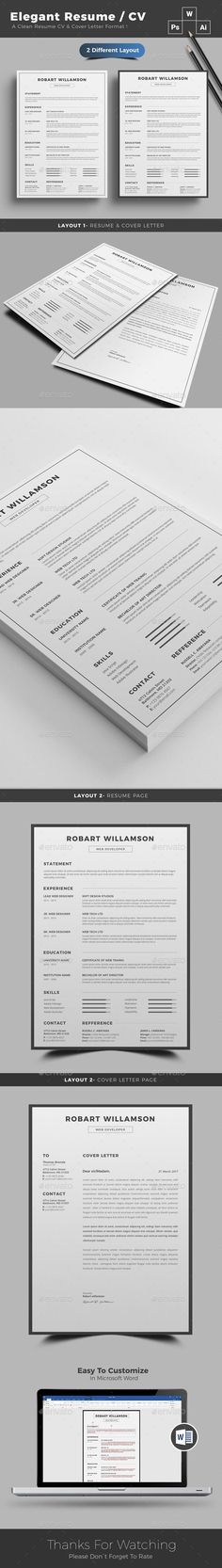 28 best Resume Templates images on Pinterest Cv template, Resume - different resume templates