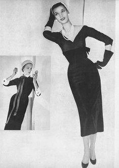 September Vogue 1952    Horst P Horst