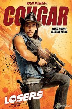 The Losers - Oscar Jaenada as Cougar Christian Bale fcfb65086f9b