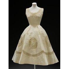 Evening dress | Balmain | 1950-55