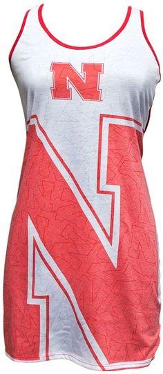 Women's Nebraska Cornhuskers Cameo Nightgown Nebraska Cornhuskers, Nightgown, Gowns, Stylish, Big, Tees, Fashion, Vestidos, Moda