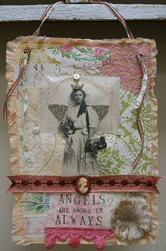 lovely collage by pam garrison Angels lend their frequencies to Matrix Connectors @harmonicsynergetis.com