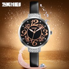 SKMEI Cheap Ladies Fancy Watches Bright Color Hot Watch Factory