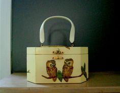 Annie Laurie Originals Palm Beach Box Purse by TheVintageStaircase