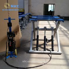 Alignment 2.8 tons Movable scissor Bendpak car lift with hydraulic