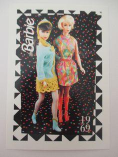 Barbie Trading Card Vintage 1969 Mod Fashions   eBay
