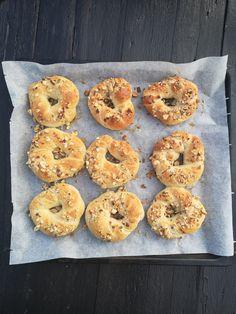 Havre snurrer! – H J E M M E L A G A Brunch, Food And Drink, Baking, Bagels, Bakken, Backen, Sweets, Pastries, Roast