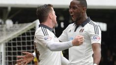Moussa Dembele and Ross McCormack were the goalscorers in Fulham's first win in seven games beating MK Dons 2-1 to ease the Cottagers relegation worries