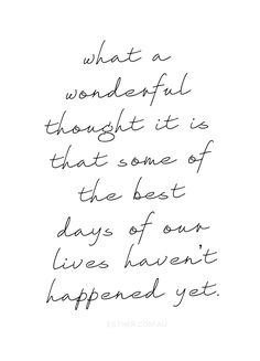 My favorite thought <3