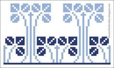 Старинные схемы для вышивания