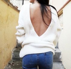 low back sweater <3