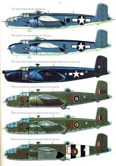 22 North American B-25 Mitchell