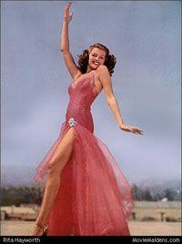 Old Hollywood Glamour icon - Rita Hayworth