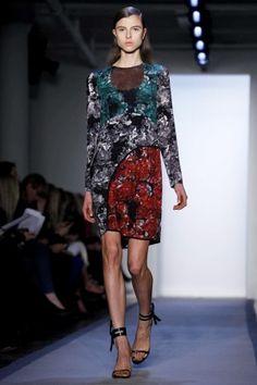 Mineral print dress  Peter Som Fall 2012