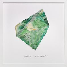 May - Emerald by Naomi Ernest at minted.com -- these would be fun and easy to paint!