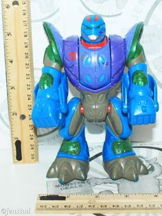 "TRANSFORMERS GO-BOTS BEAST-BOT II PLAYSKOOL PANTHER 6"" TOY ACTION FIGURE 2001 #Hasbro"