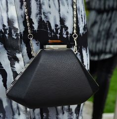 Forever Unique Black Clutch £28,