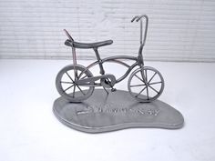 StingRay metal Bicycle Sculpture by BrownDogWelding on Etsy, $150.00
