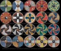 viking shield patterns - Google Search