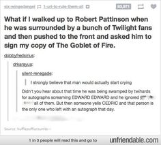 Robert Pattinson- Cedric -tumblr