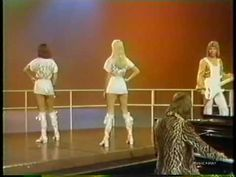 "ABBA - SOS (1975) ... ""Live"" on American Bandstand. This is terrible terrible terrible lip-syncing and ""choreography"". Wonderful song tho!"