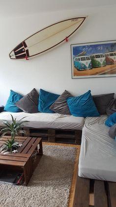 Hier Ist Das Wohnzimmer Komplett Nach Dem DIY MottoCouchDeko