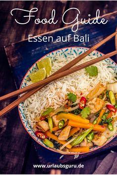 Der Food Guide für Bali verrät, was die Trauminsel kulinarisch zu bieten hat. Ob traditionell, vegan und vegetarisch oder speziell, so lecker kann man auf Bali essen!