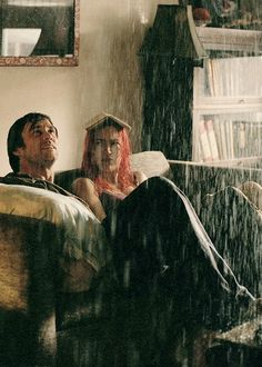 """Eternal Sunshine of the Spotless Mind"" (2004) Directed by Michel Gondry/ starring Jim Carrey & Kate Winslet"