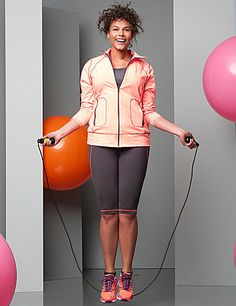 53ca5e7b8ca55 View All Womens Plus Size Exercise Work Out Clothes