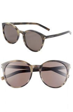 Saint Laurent 54mm Retro Sunglasses | Nordstrom