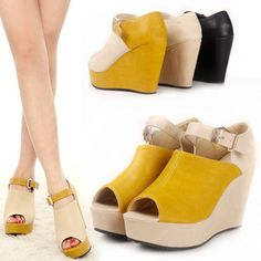 Roman Wedge - 3 colors collection - click on image for detail
