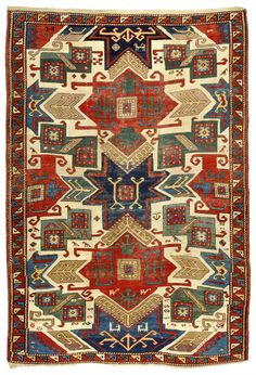 Star Kazak rug, Caucasus, first half 19th century, 157 x 230 cm. Zaleski Collection