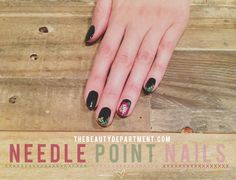 Needle on point tutorial amazing! Go to thebeautydepartment.com