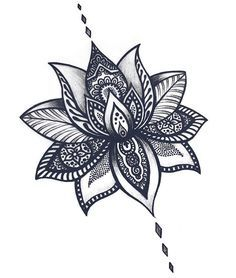 Stunning lotus flower tattoos for women pop tattoo pinterest but this one is probably one of the best flower tattoo mightylinksfo