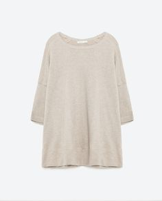 SEAMED SWEATSHIRT - SWEATSHIRTS - WOMAN | ZARA United States