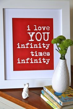 I love you infinity times infinity....to all the people I love, yes, I do. spt